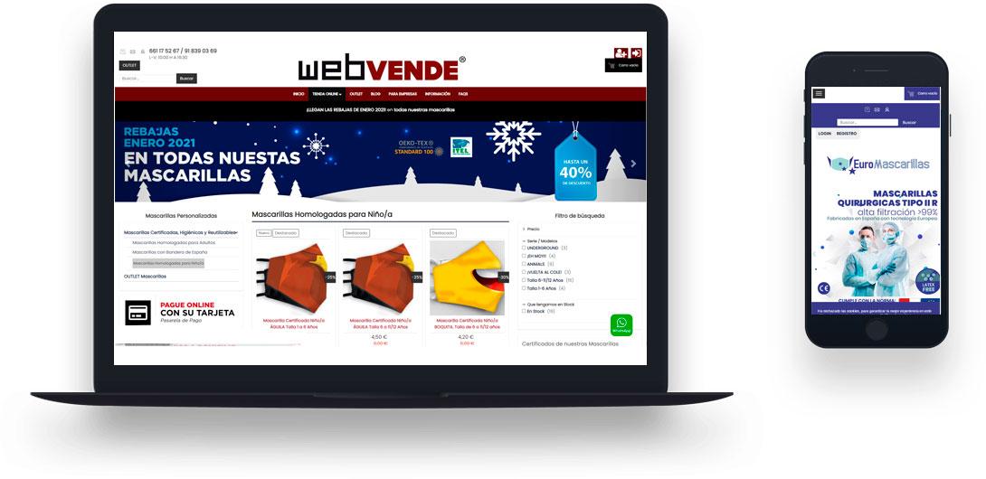 ¿Por qué fiarme del servicio que ofrece WEBVENDE® para la creación de mi tienda online?