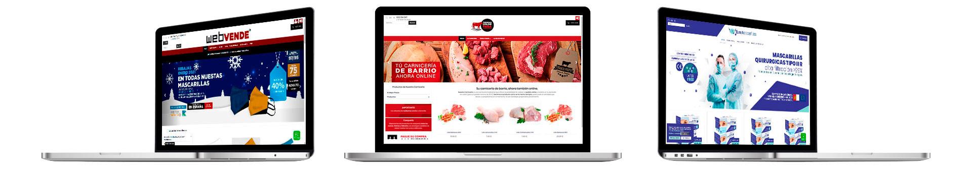 Crea tu tienda online. Creamos la tienda online de tu negocio
